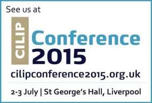 Cilip Conference 2015 logo